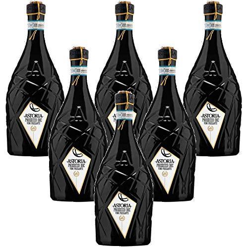 Astor Prosecco DOC Astoria Stopper mit Schnur (6 flaschen 75 cl.)