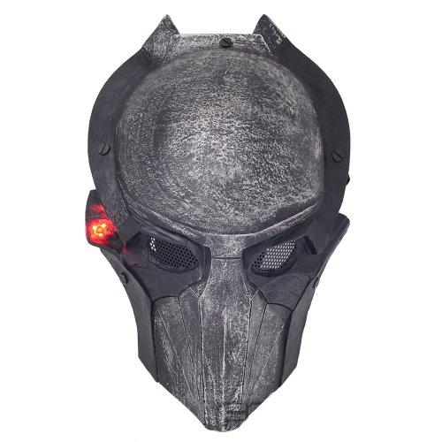 Brand New Wire Mesh Alien Vs Predator AVP Alien Falconer Full Face Protection Paintball Mask Luminous L800