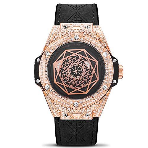 ZSTY Reloj de Cuarzo, Diamantes Tendencia de la Moda de