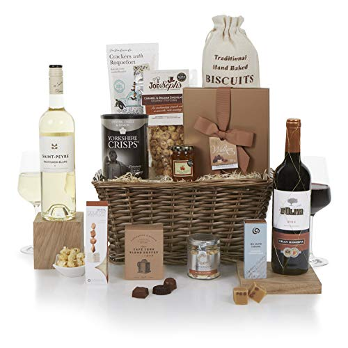 Food Feast Hamper - Gourmet Food and Wine Hampers - Gift Hampers - Fantastic Gift For The Whole Family