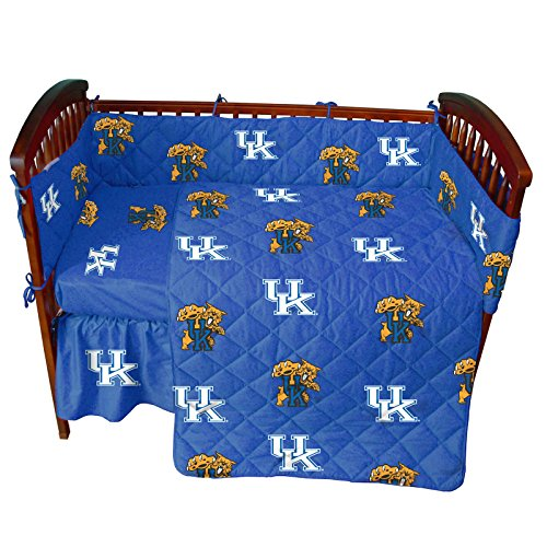 College Covers NCAA Crib Set, 28' x 52' + 6', Kentucky Wildcats