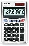 Sharp EL 379 Sb Calcolatrice Tascabile...