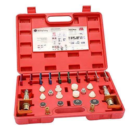 XINXI-YW Durable Herramienta de detección de Kit de Prueba de TSH automóviles Profesional Sistema de Aire Acondicionado de refrigerante de la tubería de Fugas Multlple Flushing