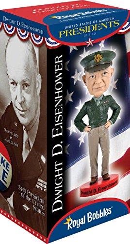 Royal Bobbles Dwight D. Eisenhower V2 Bobblehead