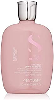 Alfaparf Milano Semi Di Lino Moisture Nutritive Sulfate Free Shampoo for Dry Hair - Paraben and Paraffin Free - Safe on Co...