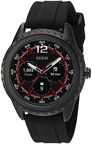 Guess Reloj Digital para Unisex Adulto de con Correa en Silicona C1002M1