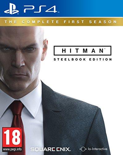 Square Enix 166964 Hitman Season 1 Complete PS-4 UK Steelbook multi