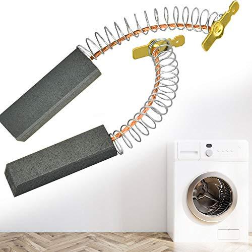 KBNIAN 2 Stück Waschmaschine Kohlebürsten Motorkohlen Kohlestifte für Elektromotoren, für Bosch Siemens 00154740 154740 [W1-18039 / A] und anderen Modellen - 36 x 5 x 12mm