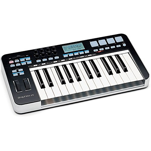 Samson Graphite 25 USB/MIDI Controller/Masterkeyboard 25 Tasten inkl. Native Elements Software