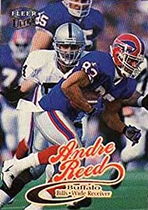 1999 Ultra Football #132 Andre Reed Buffalo Bills Official NFL Trading Card From The Fleer Skybox Company