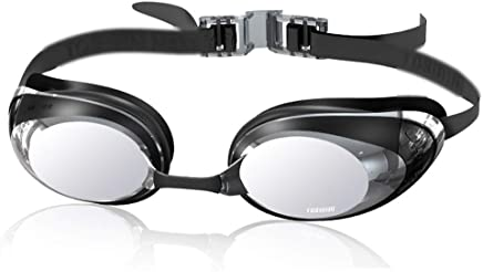 DX Safety Glasses, Antifog Goggles HD Comfortable Swimming Goggles Professional Waterproof Goggles Professional Antifog Goggles HD