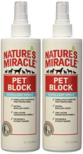 Pet Block Repellent Spray (Set of 2)