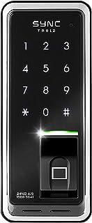 SYNC 指紋認証 電子錠 TR812 開き戸用 暗証番号 デジタルドアロック/日本語説明書付 [並行輸入品]