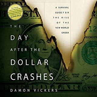 The Day After the Dollar Crashes audiobook cover art