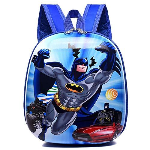 FoscaKo Mochila para niños de 1 a 4 años sólida y práctica y fácil de usar. Batman. X-Large