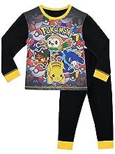 Pokemon Pijama para Niños Multicolor 7-8 años