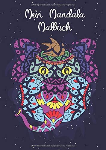 Mein Mandala Malbuch: 45 tierisch tolle Tiermandalas für Kinder ab 8+ Jahren zum Ausmalen und als Kopiervorlage für PädagogInnen. (Tierisch tolle Mandalas, Band 8)