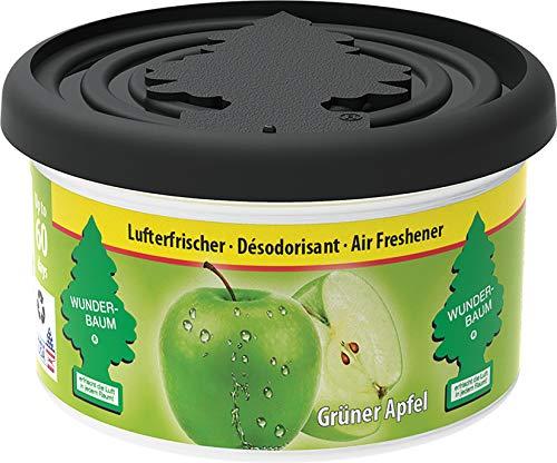 Wunder-Baum 20432 Duftdose, Grün/Green Apfel/Apple