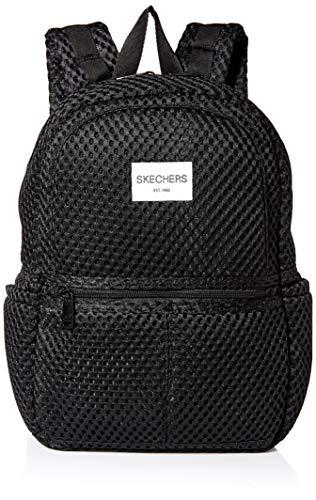 Skechers Herren Lunar Backpack Rucksäcke, schwarz, Einheitsgröße