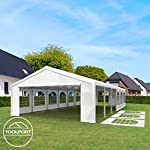 TOOLPORT 3x5 m Excellent Marquee with strong 240g/m² PE tarpaulin, Party Tent with fully galvanised & bolted steelframe… 10