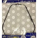 メジャークラフト ランディングネット ヘキサネット一体型 M ネット付き玉網枠 ブラック MCHN-1M/BK
