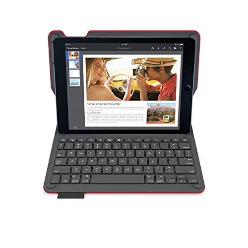 『LOGICOOL キーボード⼀体型保護ケース for iPad Air 2 レッド iK1051RD』のトップ画像