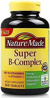 Nature Made 莱萃美 多种复合维生素B群 含维生素C 叶酸 360粒 保税区发货