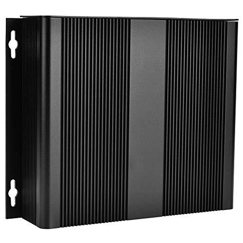 Caja de aluminio de fuente de alimentación resistente al desgaste, caja de proyecto, grosor de carcasa de 1,25-1,5 mm para productos electrónicos de placa de circuito impreso que disipa el