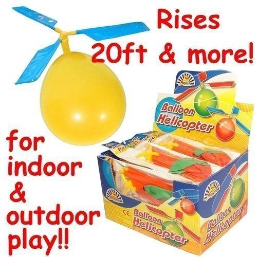 Hinter 10 Stück fliegendes Flugzeug DIY Spielzeug, Ballon, Helikopter, Neuheit Spielzeug Geschenk Outdoor Kinder Kinder Ballon Copter Flugzeug Hubschrauber