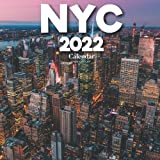 New York City 2022 Calendar: A Monthly and Weekly Calendar 2022 - 12 months - With New York City Pictures,to Write in Appointment, Birthday, Events Cute Gift Ideas For Men, Women, Girls, Boys in Bulk