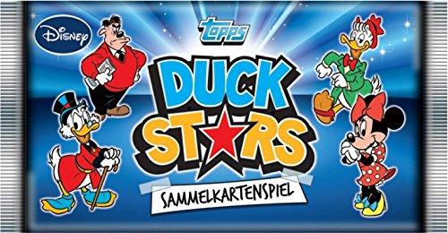 Topps Disney Duck Stars Sammelkarten EIN Booster