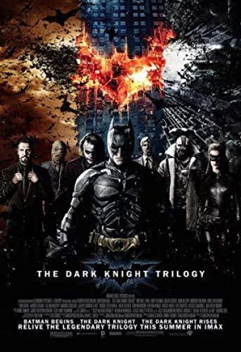 qianyuhe Affiches et estampes Batman Film The Dark Knight Trilogy Art Poster Home Decor 60x90cm (24x36inch