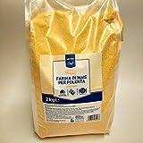 prodigital Harina de maíz para Polenta instantánea Lista en 5 Minutos de 2 kg