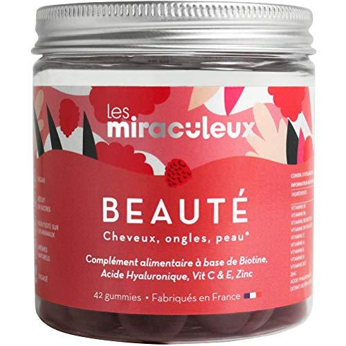 professionnel comparateur Miraculous – Beaux cheveux d'ongle – Boîte d'ouverture – Gummies – Compléments alimentaires… choix
