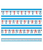 Carson Dellosa Student Number Line Set—0-30...