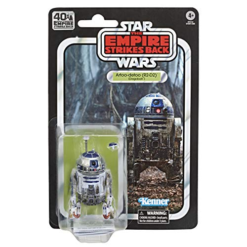 Star Wars 40ème anniversaire - Figurine Black Series Artoo-detoo (R2-D2) (Dagobah) 15 cm - Edition Collector