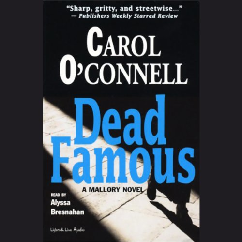 Dead Famous audiobook cover art