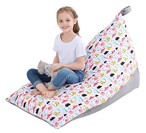 SMRONAR Sitzsack / Sitzsack, groß, Stofftier-Sitzsack, Kinderspielzeug, Organizer, weicher Samt, für die Organisation von Kinderzimmern, für Kinder, Jugendliche und Erwachsene