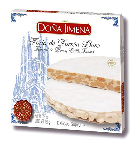 ⭐ Torta Turrón Duro Suprema Doña Jimena 150g | Sin Gluten | Calidad Suprema