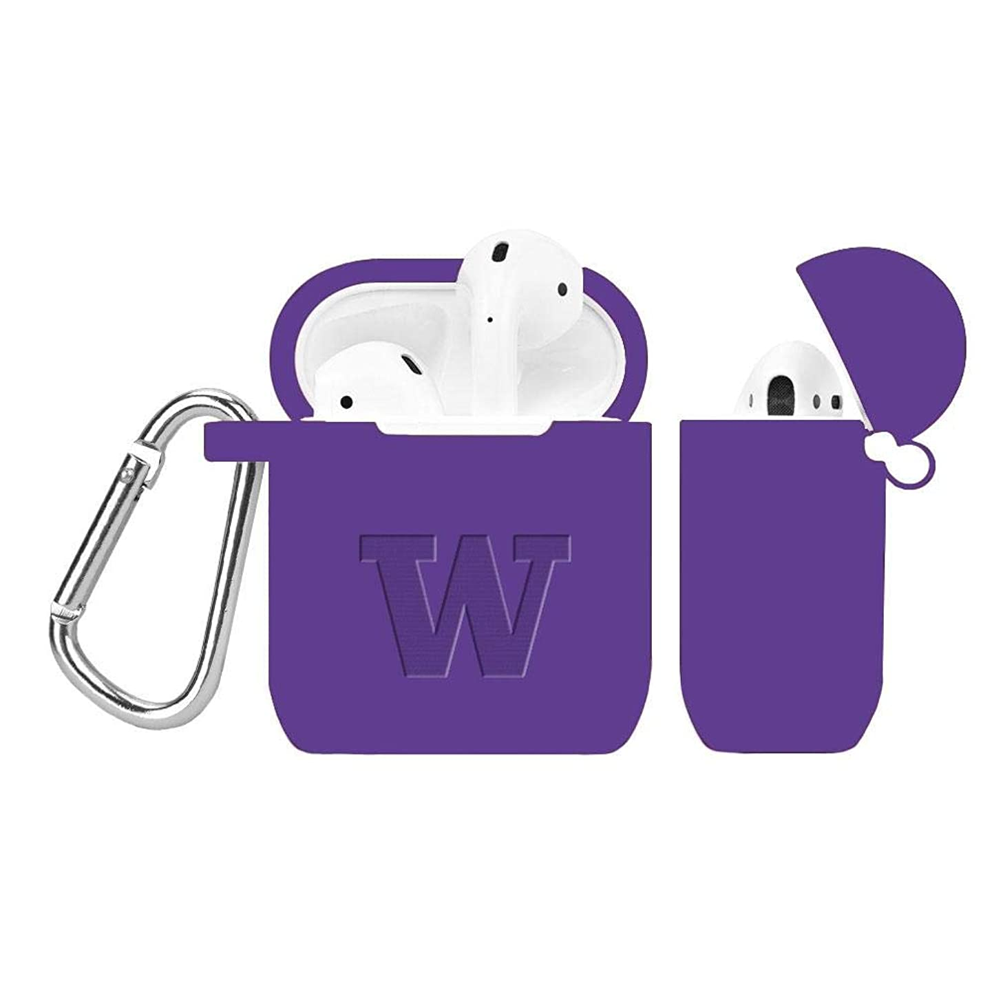 Affinity Bands Washington Huskies Debossed Airpod Case Cover