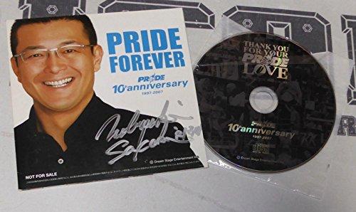 Nobuyuki Sakakibara Signed Pride FC Forever DVD PSA/DNA COA Rizin MMA Autograph - Autographed UFC Miscellaneous Products