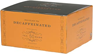 Harney & Sons Black Tea, Tea Bags, Decaffeinated, 50 Count