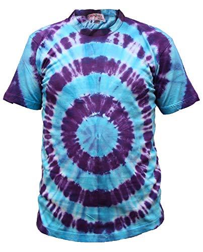 SHOPOHOLIC FASHION Tyedye - Camiseta para hombre