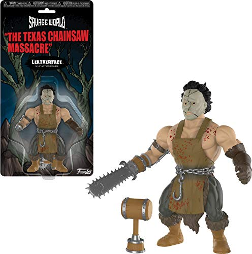 Funko Savage World Texas Chainsaw Massacre: Leatherface Action Figure 10cm, Multi