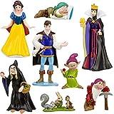 EASTVAPS Juguete 8 Piezas Figura Blancanieves Siete príncipes Enanos Bruja decoración Retrato Famili...
