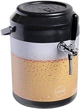 Chopeira a gelo cooler 12l - preto beer serpentina em alumínio 1 via - sem troneira