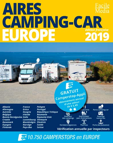 Aires Camping-car Europe 2019