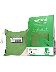 Vayu Natural - Air Purifier, Deodorizer & Portable Dehumidifier For Room, Office, Basement (Activated Charcoal Bag, 500gms, Pack of 1)