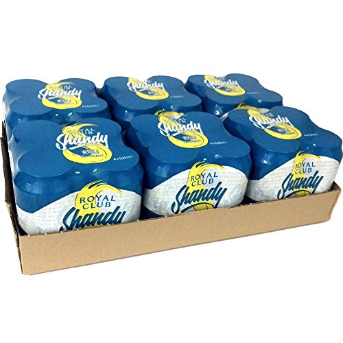 Royal Club Shandy 6 Packungen á 4 x 0,33l Dose (gesamt 24 Dosen)