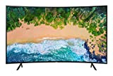 SAMSUNG UN55NU7300FXZX Curvo Smart TV 55', 4K Ultra HD, 2018, Negro Carbon